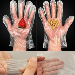 Disposable Food Prep Gloves Plastic Food Safe Disposable Gloves
